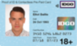 proof of ID Card