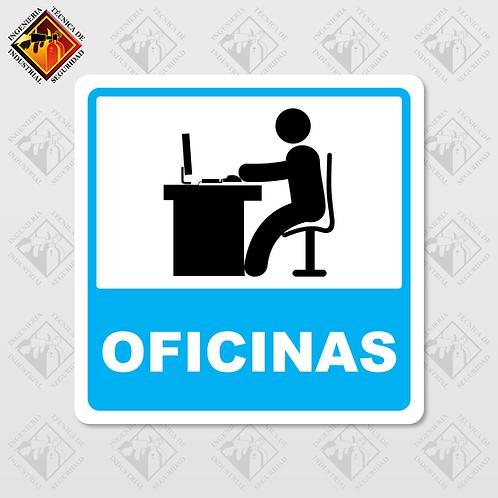 """Señal de """"OFICINAS"""""""