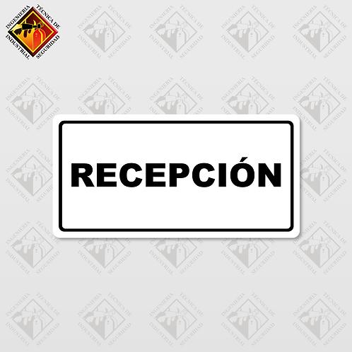 """Señal de """"RECEPCIÓN"""""""