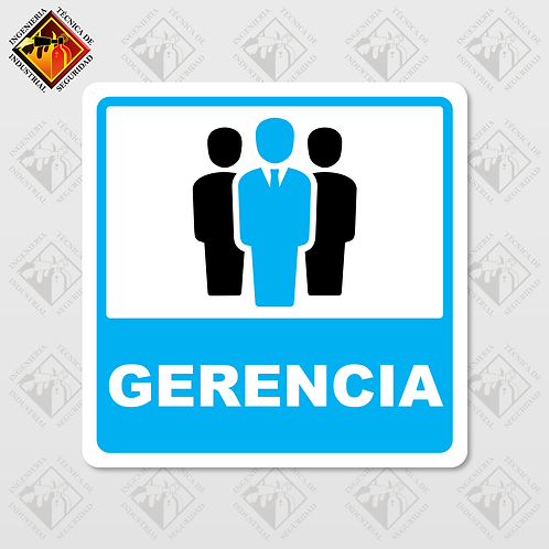 """Señal de """"GERENCIA"""""""