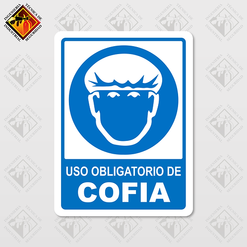 """Señal de """"OBLIGATORIO COFIA"""""""
