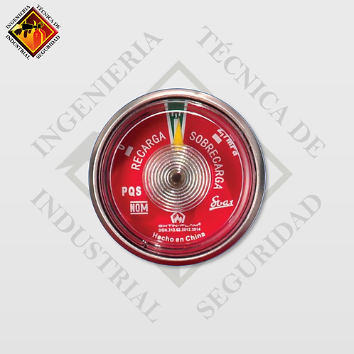 Manometro Certificado para Extintor