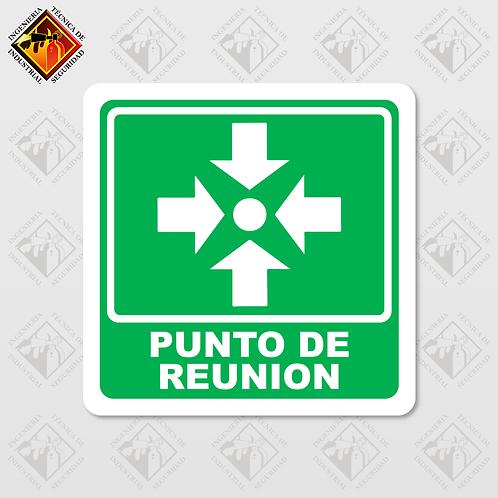 """Señal de """"PUNTO DE REUNIÓN"""""""