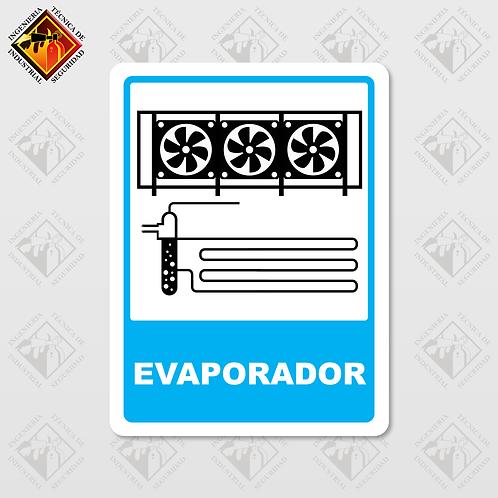 "Señal de ""EVAPORADOR"""