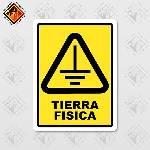 """Señal de """"TIERRA FÍSICA"""""""