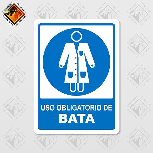 "Señal de ""OBLIGATORIO BATA"""