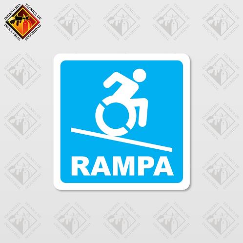 """Señal de """"RAMPA"""""""