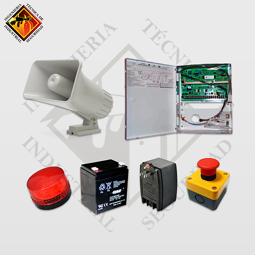 Kit Alarma de Emergencia EF
