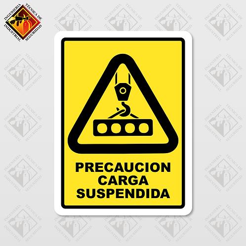 """Señal de """"CARGA SUSPENDIDA"""""""