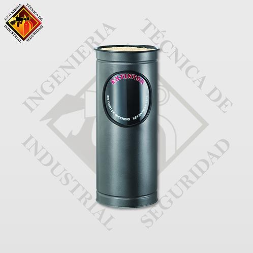 Porta Extintor Cilíndrico PQS de 4 a 9 Kg (Martillado)