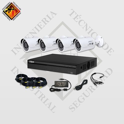 Kits de Video Vigilancia de 4 a 16 Cámaras 720p 30fps