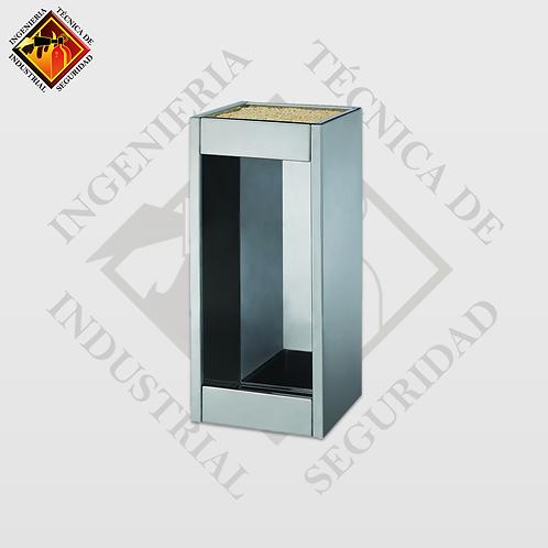 Porta Extintor Cuadrado PQS de 4 a 6 Kg (Pulido o Espejo)