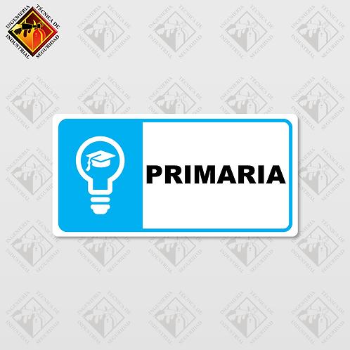 """Señal de """"PRIMARIA"""""""