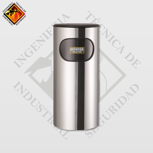 Porta Extintor Cilíndrico CO2 de 15 a 20 Lb (Pulido o Espejo)