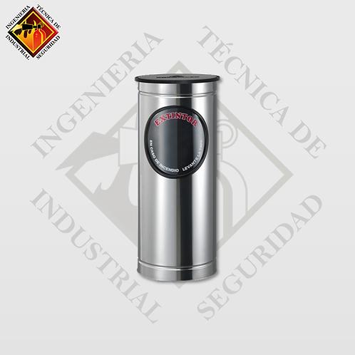 Porta Extintor Cilíndrico CO2 de 5 Lb (Pulido o Espejo)