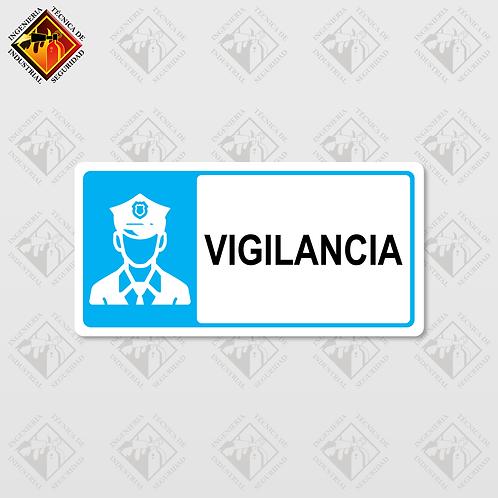 """Señal de """"VIGILANCIA"""""""