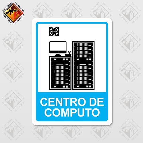 """Señal de """"CENTRO DE COMPUTO"""""""