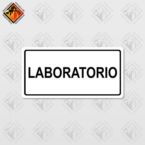 "Señal de ""LABORATORIO"""