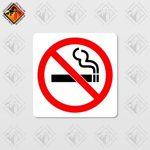 """Señal de """"NO FUMAR"""""""