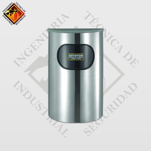 Porta Extintor Media Luna PQS de 4 a 6 Kg (Pulido o Espejo)