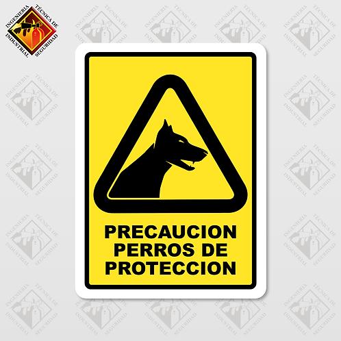"""Señal de """"PERROS DE PROTECCIÓN"""""""