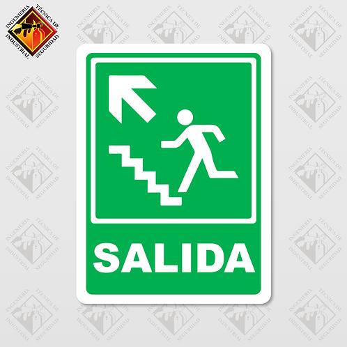 "Señal de ""SALIDA - ARRIBA"""