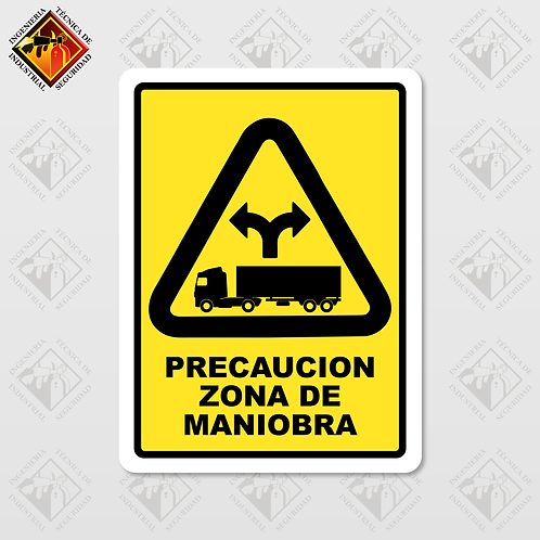 "Señal de ""ZONA DE MANIOBRA"""