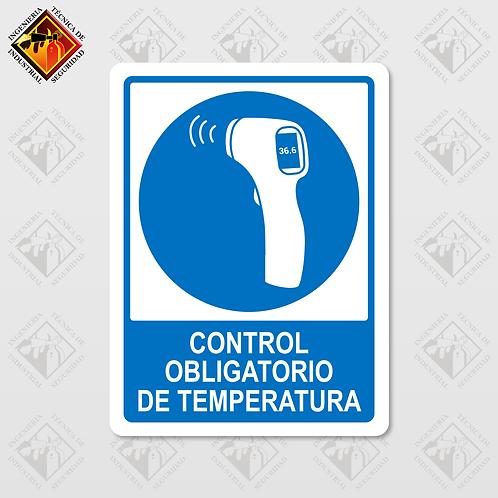 """Señal de """"CONTROL DE TEMPERATURA"""""""