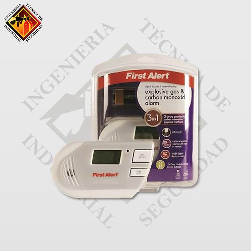 Detector de Gases First Alert GC01-CN