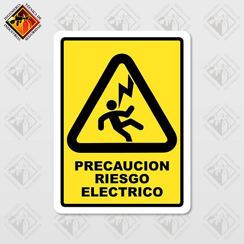 """Señal de """"RIESGO ELÉCTRICO"""""""