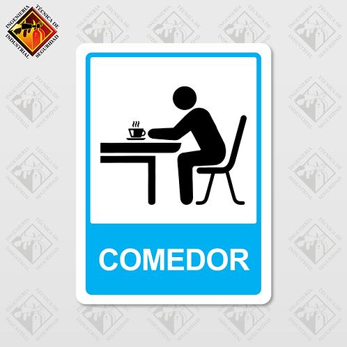 """Señal de """"COMEDOR"""""""