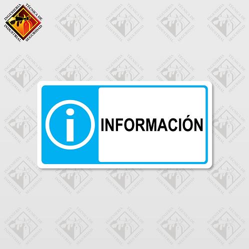 """Señal de """"INFORMACIÓN"""""""