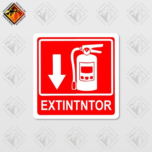 """Señal de """"EXTINTOR"""""""