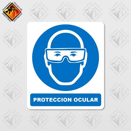 """Señal de """"PROTECCIÓN OCULAR"""""""
