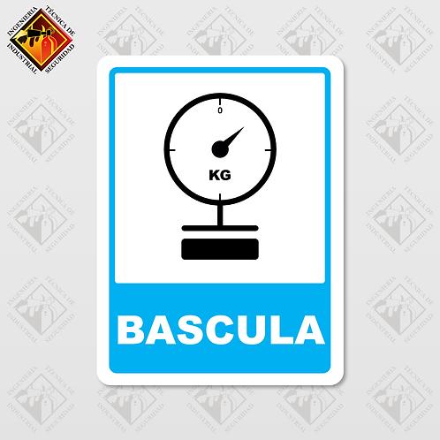 """Señal de """"BASCULA"""""""