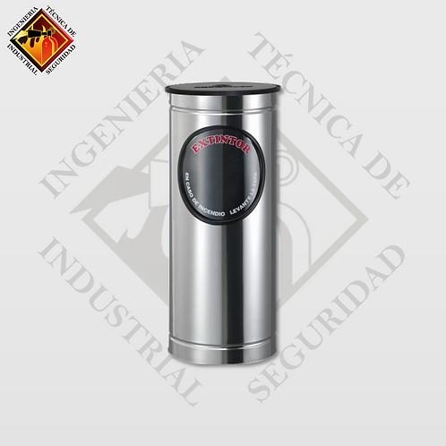 Porta Extintor Cilíndrico PQS de 4 a 9 Kg (Pulido o Espejo)