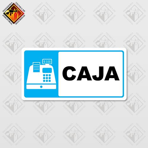 "Señal de ""CAJA"""