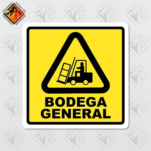 "Señal de ""BODEGA GENERAL"""