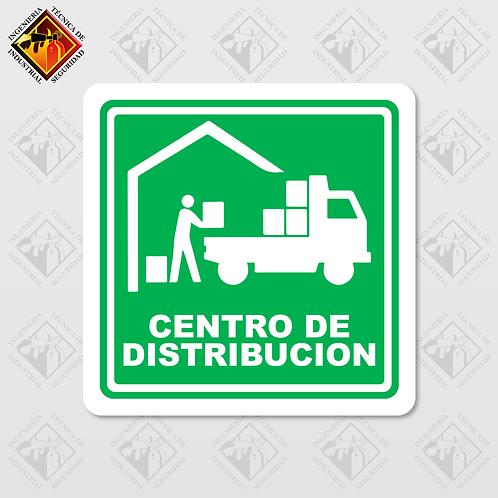 """Señal de """"CENTRO DE DISTRIBUCIÓN"""""""