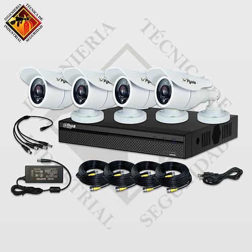Kits de Video Vigilancia de 4 a 16 Cámaras 720p 15fps