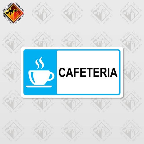 """Señal de """"CAFETERIA"""""""