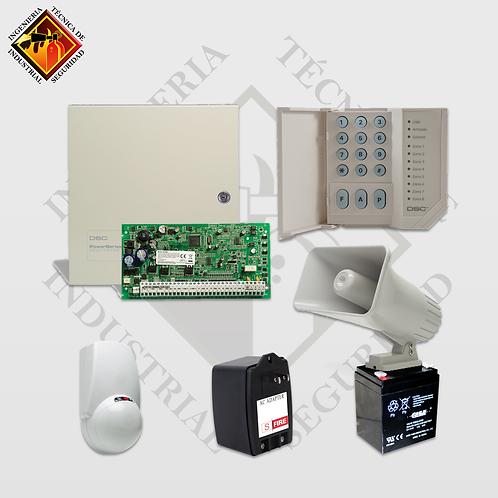 Kits de Sistemas de Seguridad + Sensores de Movimiento