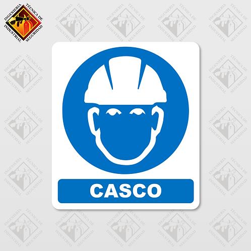 """Señal de """"CASCO"""""""