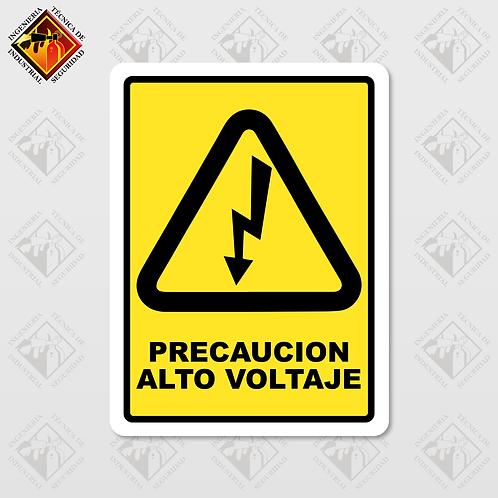 """Señal de """"ALTO VOLTAJE"""""""
