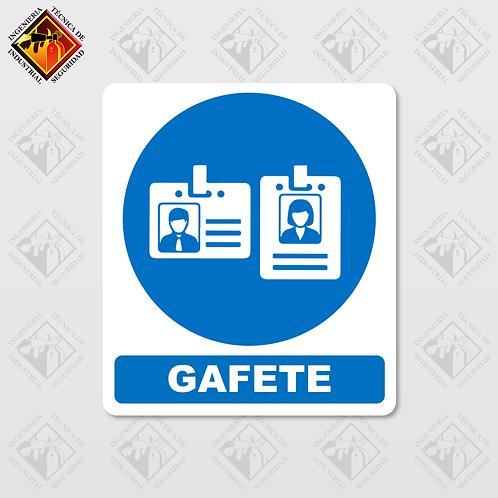 """Señal de """"GAFETE"""""""