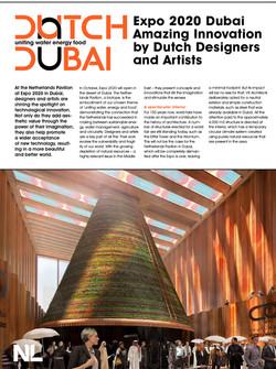 PRESS RELEASE WORLDEXPO DUBAI NETHERLAND