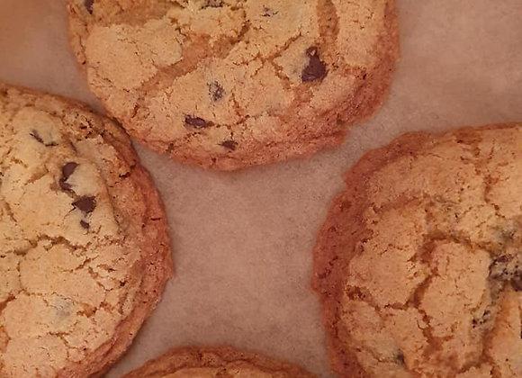Box of 6 Choc chip cookies