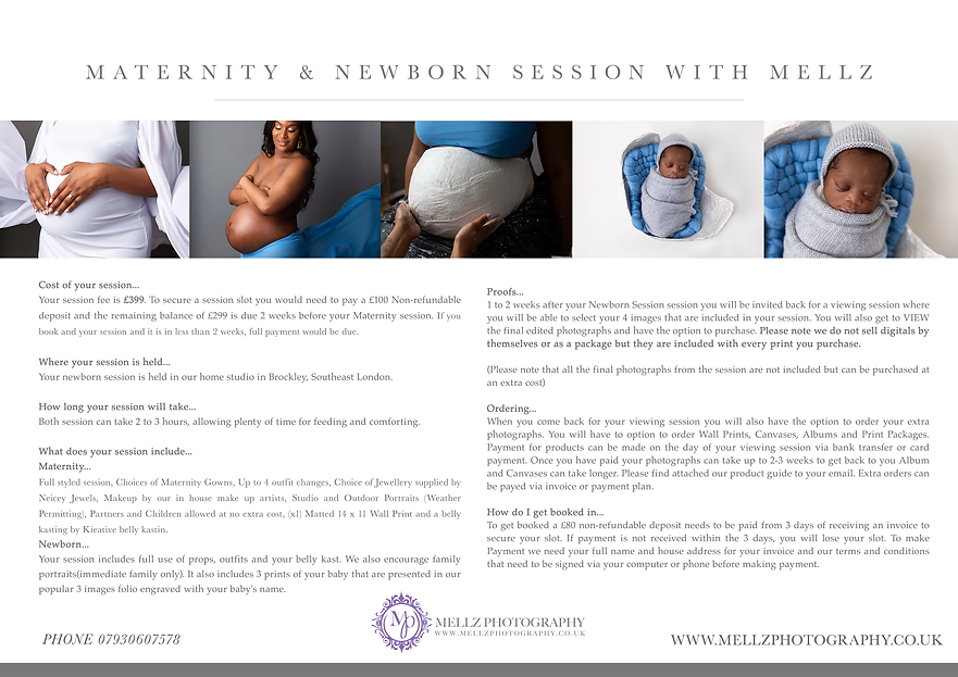 Maternity + Newborn Session With Mellz P
