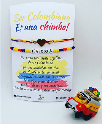 Pulsera Ser Colombiana