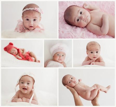 Een heel klein meisje